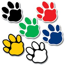Paw Prints Mini Cut Outs