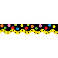 Dancing Dots Wavy Border