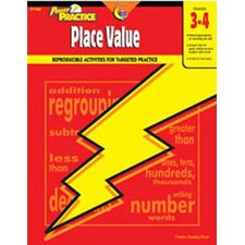 Place Value 3-4 Math Power Practice