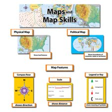 <strong>Creative Teaching Press</strong> Maps & Map Skills Mini Bb Set