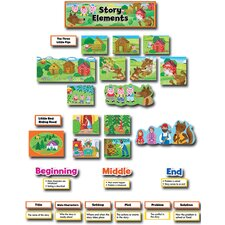 <strong>Creative Teaching Press</strong> Story Elements Mini Bb Set