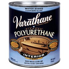 1 Quart Semi-Gloss Interior Water-Based Diamond Polyurethane Finish® 2