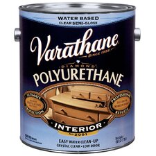 <strong>Varathane</strong> 1 Gallon Satin Interior Water-Based Diamond Polyurethane Finish® 20023