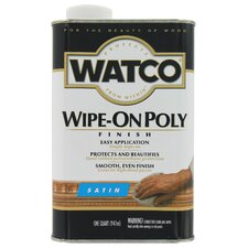 1 Quart Satin Wipe On Poly