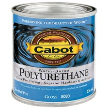 1/2 Pint Gloss Interior Water-Borne Polyurethane 144-8080 HP