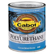 1/2 Pint Semi-Gloss Interior Water-Borne Polyurethane 144-8087 HP