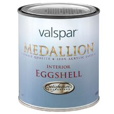 1 Quart Custom White Medallion Interior 100% Acrylic Paint Eggshell