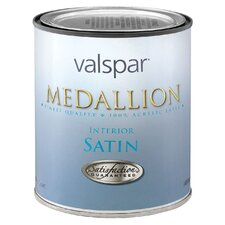 1 Quart Pastel Base Medallion 100% Acrylic VOC Interior Paint Satin