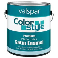1 Gallon Pastel Base ColorStyle® Interior Latex Satin Enamel Wall