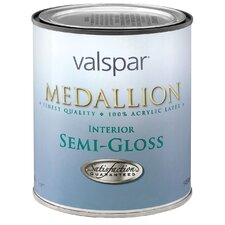 1 Quart Tint Base Medallion 100% Acrylic Interior Paint Semi Gloss
