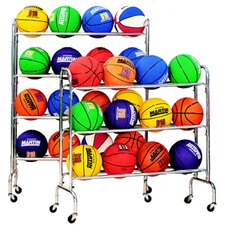 <strong>Dick Martin Sports</strong> Portable Ball Rack Holds 12-3 Tiers