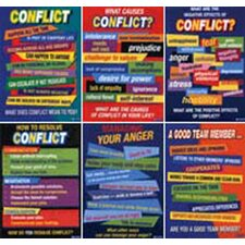 Conflict Resolution Posters (Set of 6)