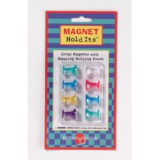 Eight Medium Push Pin Magnets