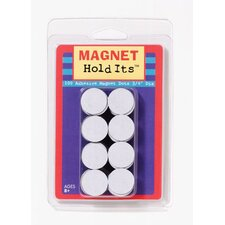 <strong>Dowling Magnets</strong> 100 3/4 Dia Magnet Dots With