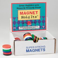 <strong>Dowling Magnets</strong> Button Magnet Display 40 Pcs