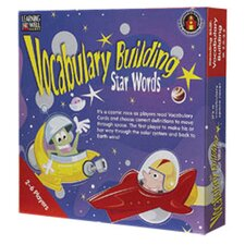 Vocabulary Building Star Words Red