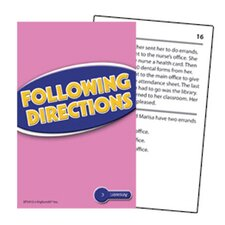 Following Directions Practice Cards