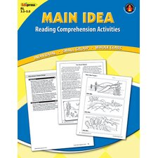 Main Idea Comprehension Book Blue