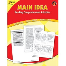 Main Idea Comprehension Book Red