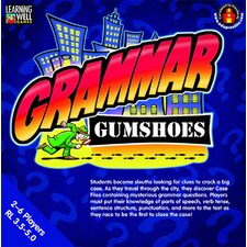 Grammar Gumshoes Blue Level