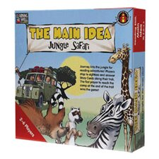 The Main Idea Jungle Safari Red