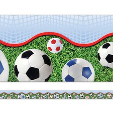 Soccer Layered Border