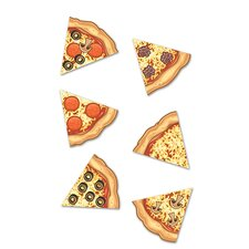 Pizza Slices Mini Accents (Set of 41)