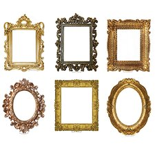 <strong>Edupress</strong> Fancy Frames Bulletin Board Accent (Set of 43)