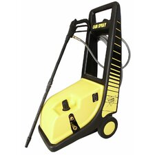 1450 PSI Cold Water Electric Roto Cart Pressure Washer with Electric Cut-Out Thermal Relief