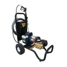 2000 PSI Cold Water Electric Tube Cart Pressure Washer