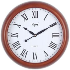 "<strong>Opal Luxury Time Products</strong> 14.4"" Round Traditional Antique Look Wall Clock"