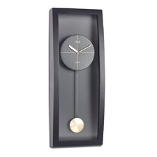 """20.6"""" Full Curved Glass Wall Clock"""