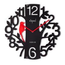 "16"" Bird Shaped Pendulum Designer Wall Clock"
