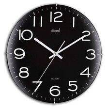 "12"" Edge Less Dome Glass Wall Clock"