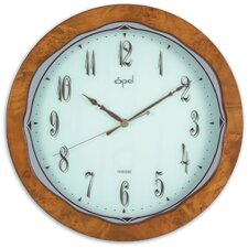 """13"""" Classy Wooden Round Wall Clock"""