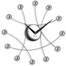 "<strong>Opal Luxury Time Products</strong> 13.72"" Ultra Modern Nest Shaped Wall Clock"