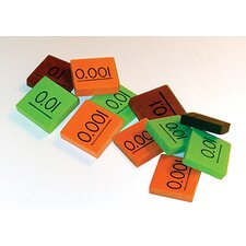 Place Value Decimal Tiles