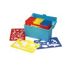 <strong>Essential Learning Products</strong> Stencil Mill 24/pk In Plastic Box (Set of 24)
