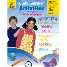 Daily Summer Activities 4th To 5th