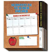 <strong>Frank Schaffer Publications/Carson Dellosa Publications</strong> Substitute Folder Elem Cork 24-pk