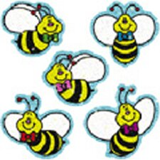 Dazzle Stickers Bees 75-pk Acid &