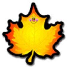 Colorful Cut-outs Maple Leaf 36/pk