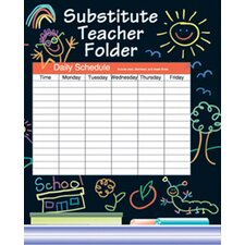Substitute Folder Elem Kid-drawn