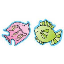 Fish Stickers 20 Per Sheet Gr Pk-2