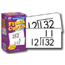 Flash Cards Division 0-12