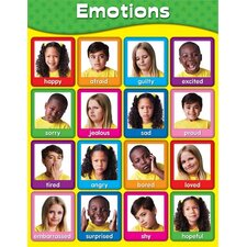 Emotions Laminated Chartlet