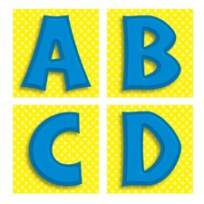 Blue Letters Quick Stick