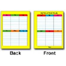 Portable Word Wall Gr 1-3 12/pk