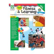 Fun Fitness & Learning Book Gr Pk-k