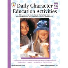 Character Ed Activities Gr4-5 Daily